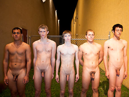 Can naked male college students